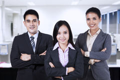 Confident business people 1 Royalty Free Stock Photography