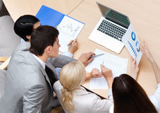 Confident business people at the meeting Stock Photography