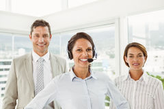 Confident business people in the office Stock Photography