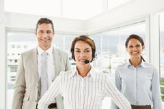 Confident business people in the office Stock Photo