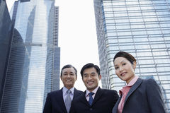 Confident Business People Smiling Royalty Free Stock Images