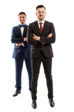 Confident business people smiling Royalty Free Stock Photo