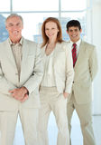 Confident business people standing together Royalty Free Stock Image