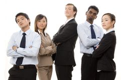 Confident Business Team 1 royalty free stock photo