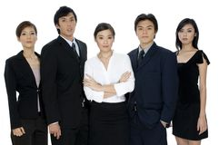 Confident Business Team Stock Photography