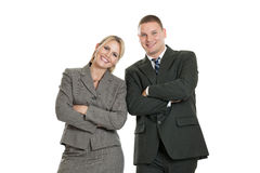 Confident business team Stock Photo
