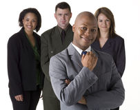 Confident Business Team Royalty Free Stock Image