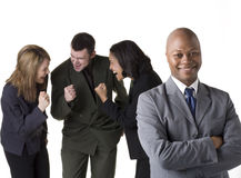 Confident Business Team royalty free stock images