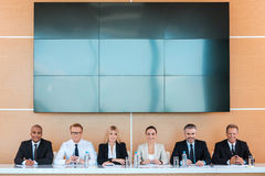 Confident business team. Royalty Free Stock Photo