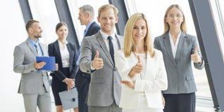 Confident business team Stock Photo