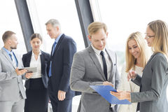 Confident business team Royalty Free Stock Photo