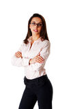 Confident business woman Stock Image