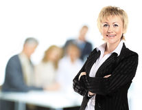 Confident business woman Stock Photo