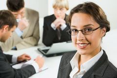 Confident business woman Stock Photography