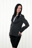 Confident business woman in business attire Stock Photography