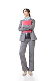 Confident business woman royalty free stock photo