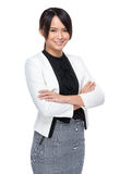 Confident business woman portrait Royalty Free Stock Photography