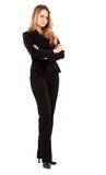 Confident business woman standing Stock Image