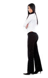 Confident business woman standing Stock Images