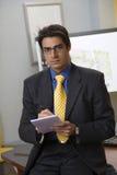 Confident businessman Stock Images