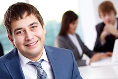 Confident businessman Stock Image