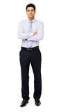 Confident Businessman With Arms Crossed Royalty Free Stock Images