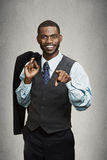 Confident businessman Royalty Free Stock Photo