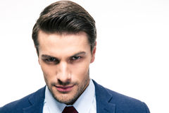 Confident businessman looking at camera Stock Image