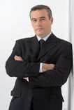 Confident businessman. Stock Photography