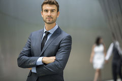 Confident Young Business Executive Portrait Stock Image