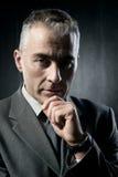 Confident businessman portrait Royalty Free Stock Image