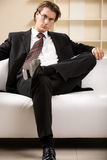 Confident businessman Royalty Free Stock Image