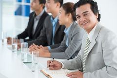 Confident businessman Stock Photography