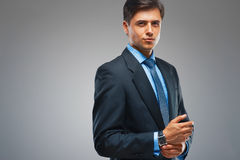 Confident businessman portrait.  Success and wealth Royalty Free Stock Photography