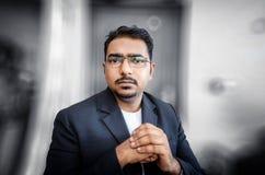 confident  businessman portrait Stock Photos