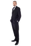 Confident businessman posing casually Royalty Free Stock Photography
