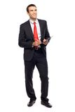 Confident businessman standing Stock Image