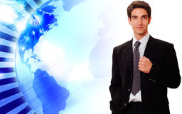 Confident businessman standing Royalty Free Stock Images