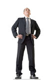 Confident businessman standing Royalty Free Stock Image