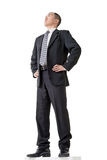 Confident businessman standing Stock Photo