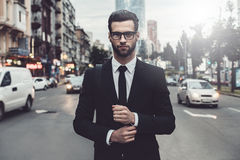 Confident businessman. Royalty Free Stock Photography