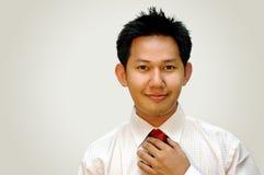 Confident businessmen. Positive attitude businessmen royalty free stock images