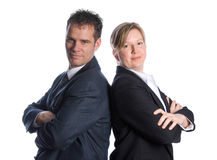 Confident businesspeople Stock Photography