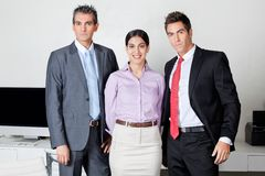 Confident Businesspeople Standing Together Royalty Free Stock Photography