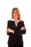 Confident businesswoman Stock Images