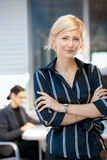 Confident businesswoman Royalty Free Stock Photos
