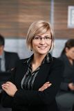 Confident businesswoman Stock Images
