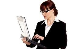 Confident businesswoman. Stock Images