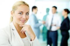 Confident businesswoman Stock Photo