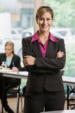 Confident businesswoman Stock Image